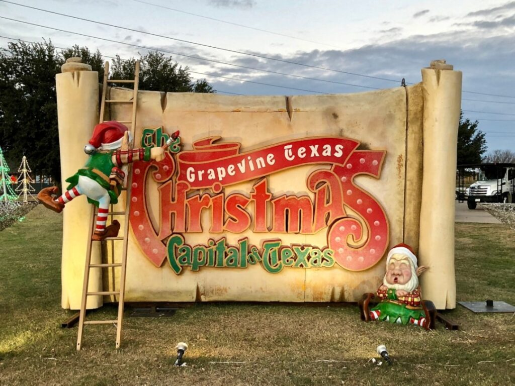 Grapevine Christmas in Texas