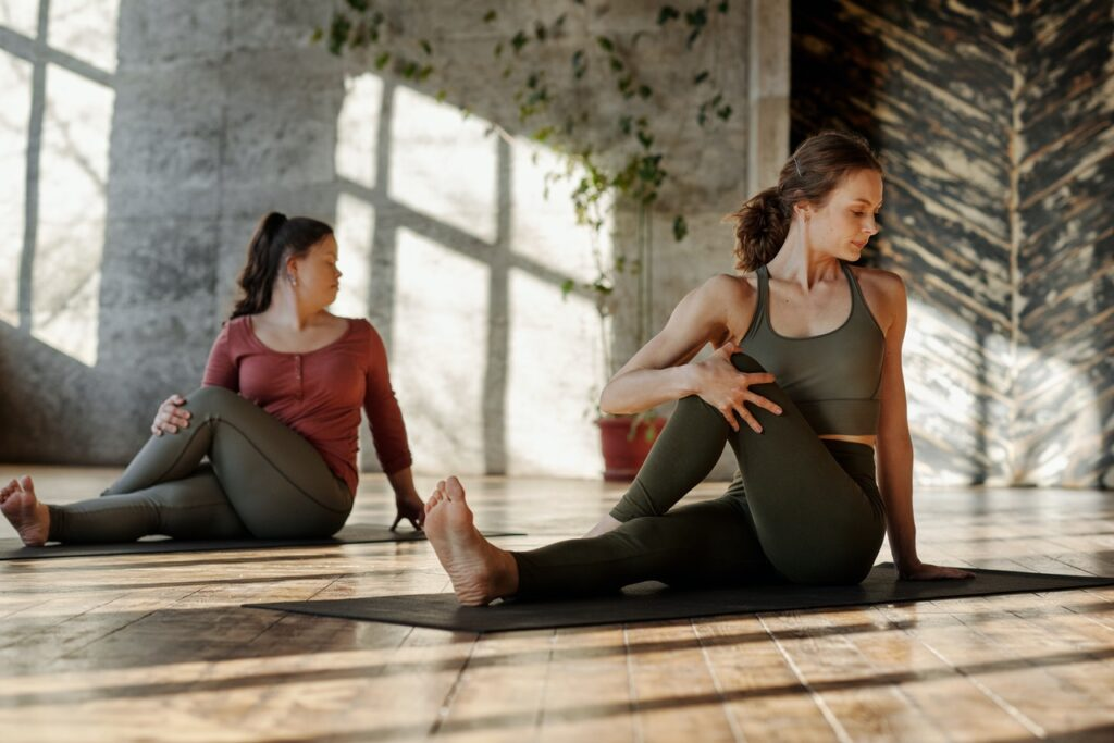 yoga may provide ultimate stress relief
