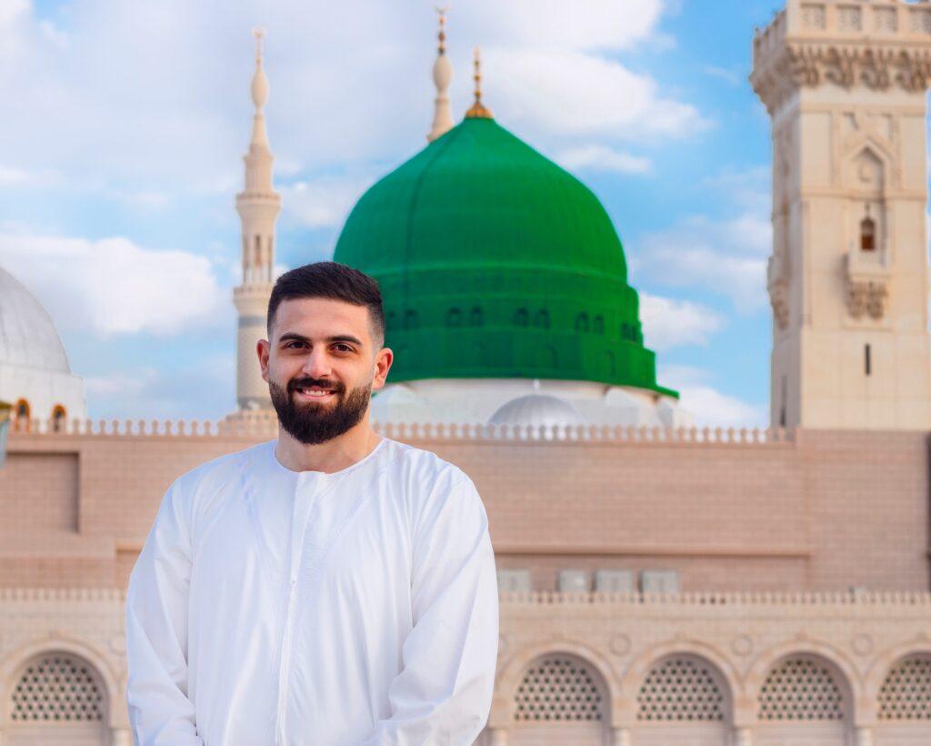 A Saudi Arabian man