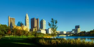 Panorama of downtown Columbus, Ohio