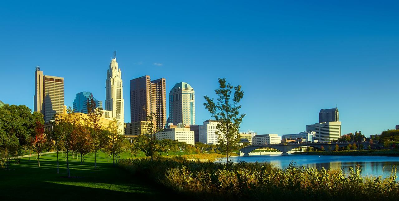 Panorama of downtown Columbus, Ohio