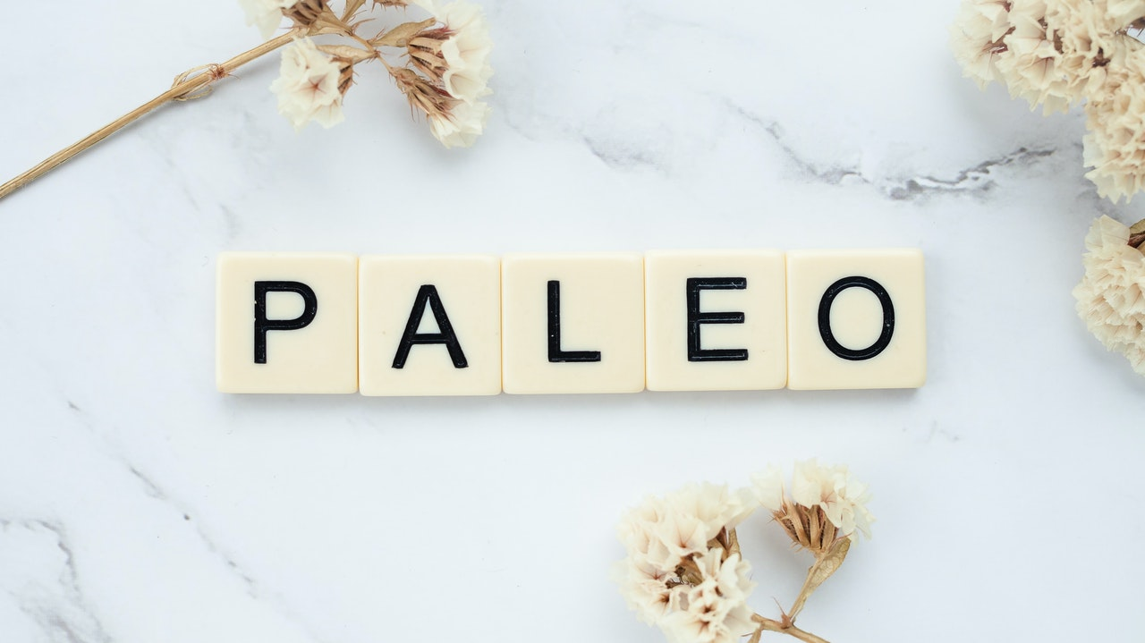 Letters that spell out ''paleo''