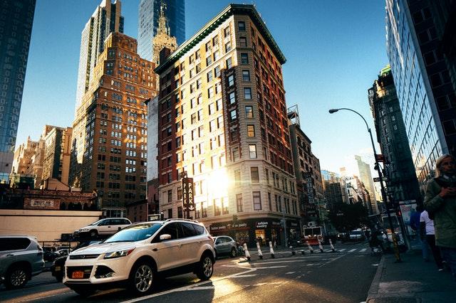 an NYC neighborhood
